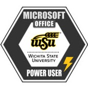 WSU Microsoft Office Power User Certificate