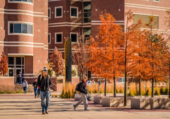 Jabara Hall in Fall
