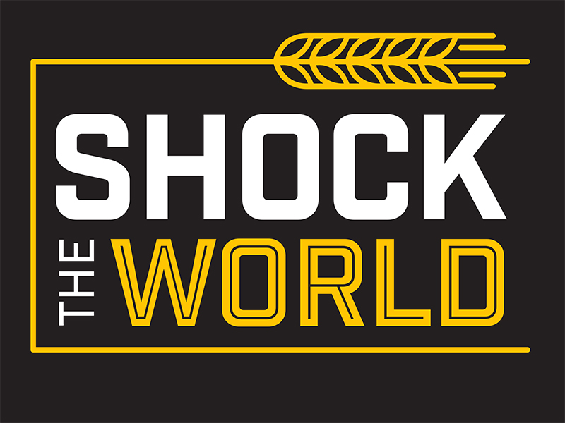shock the world graphic