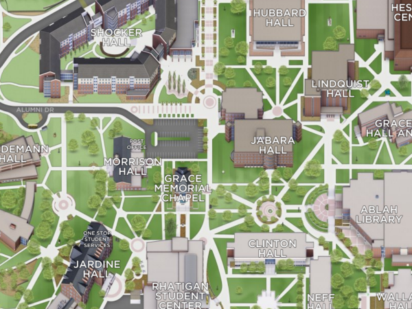 Wichita State University Campus Map Maps and Directions
