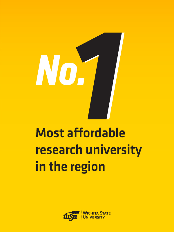 No. 1 most affordable research university in the region