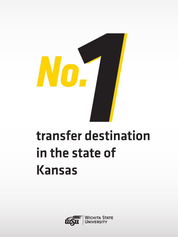 No. 1 Transfer Destination in the state of Kansas