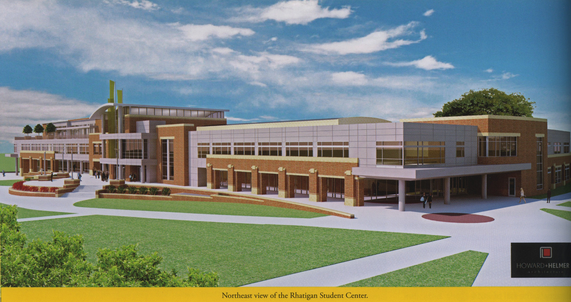 Rendering for the Rhatigan Renewal project