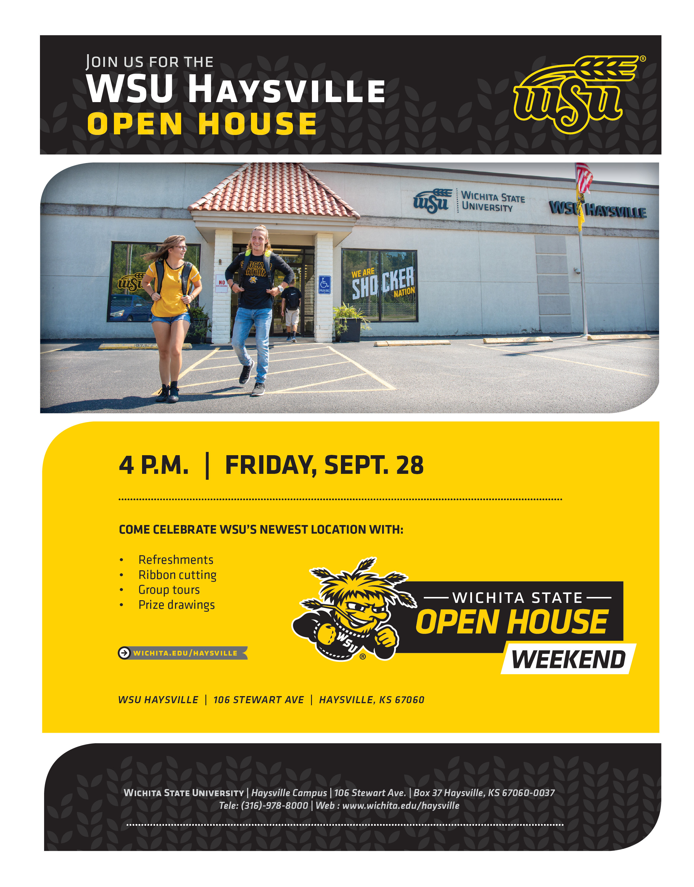 WSU Haysville Open House