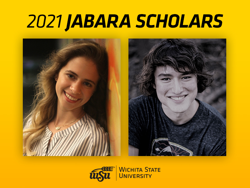 Erin Jacobson and Gavin Dick, will each receive a total of $50,000 over four years to attend Wichita State.