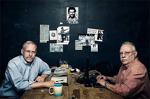 Steve Murphy and Javier Pena, two world touring DEA agents responsible for the capture of Pablo Escobar, will be speaking at 7 p.m. Friday, March 9, at WSU's Hughes Metropolitan Complex.