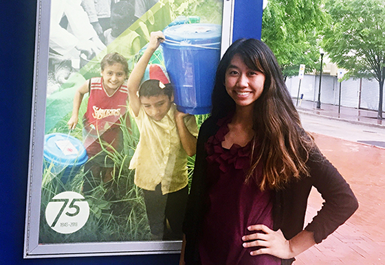 Jenny Nguyen is a 2018 Wichita State graduate who will work full-time with for Catholic Relief Services before starting her travels along the east coast volunteering in the fall.