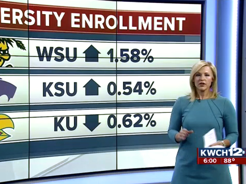 KWCH story on enrollment