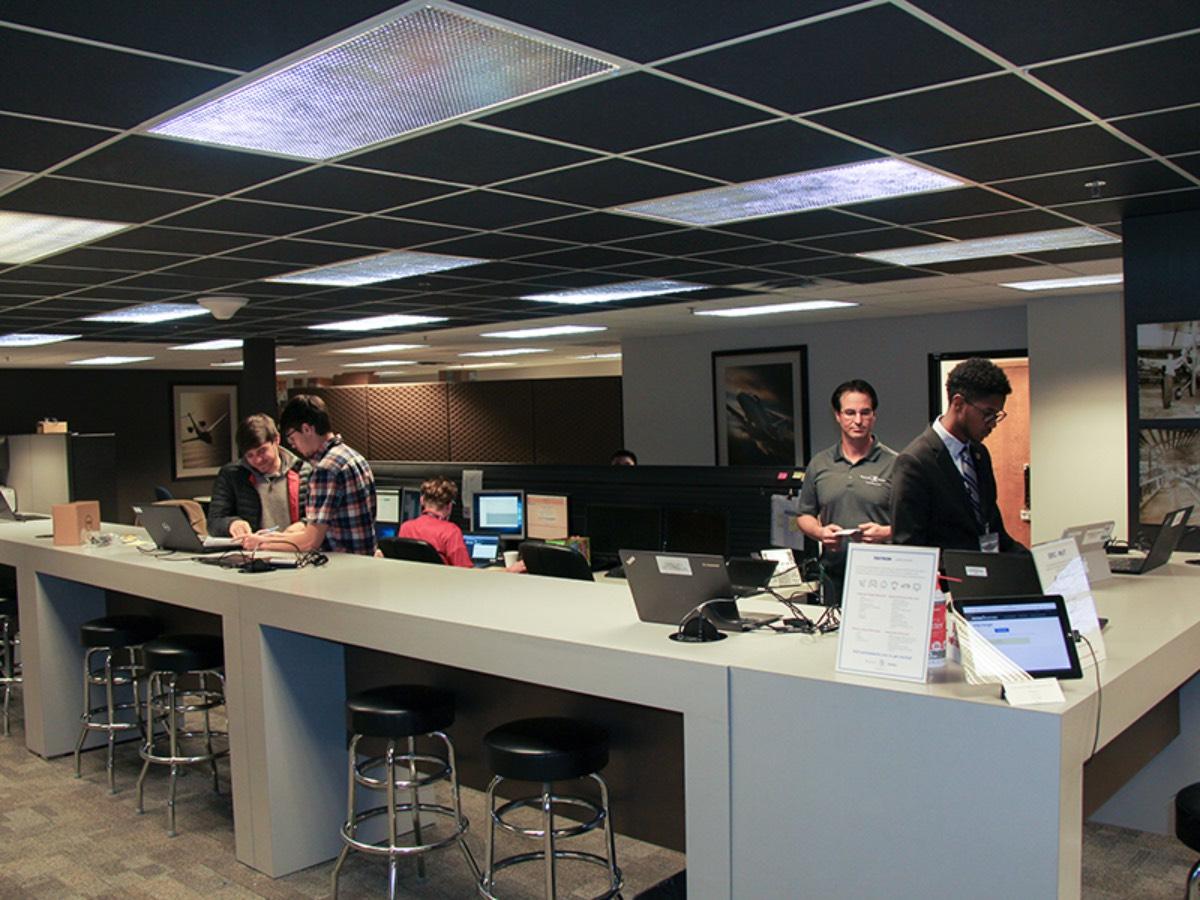 Help Hangar starts Wichita State students in IT career