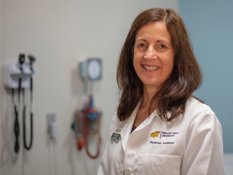 Gina Brown, physician assistant professor