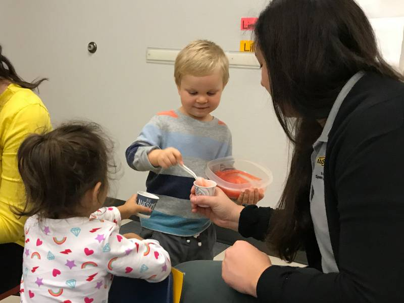 Pediatric Feeding Group at Speech-Language-Hearing Clinic