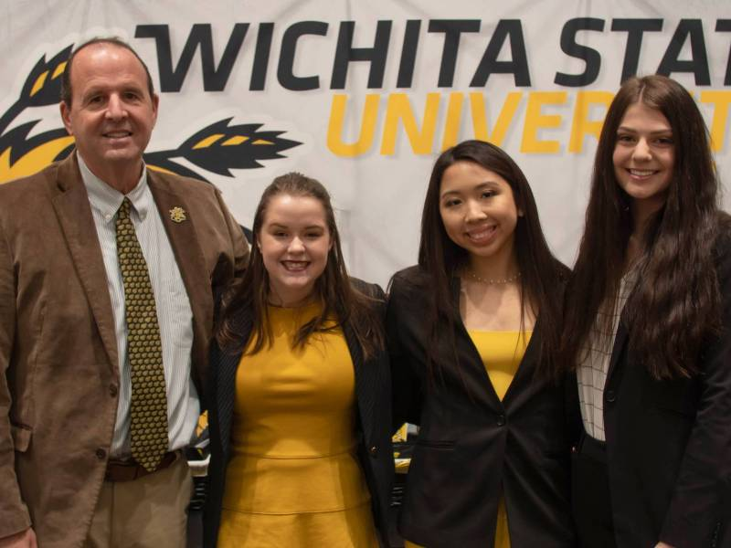 Winners of the 2020 Gore Scholarships to attend Wichita State