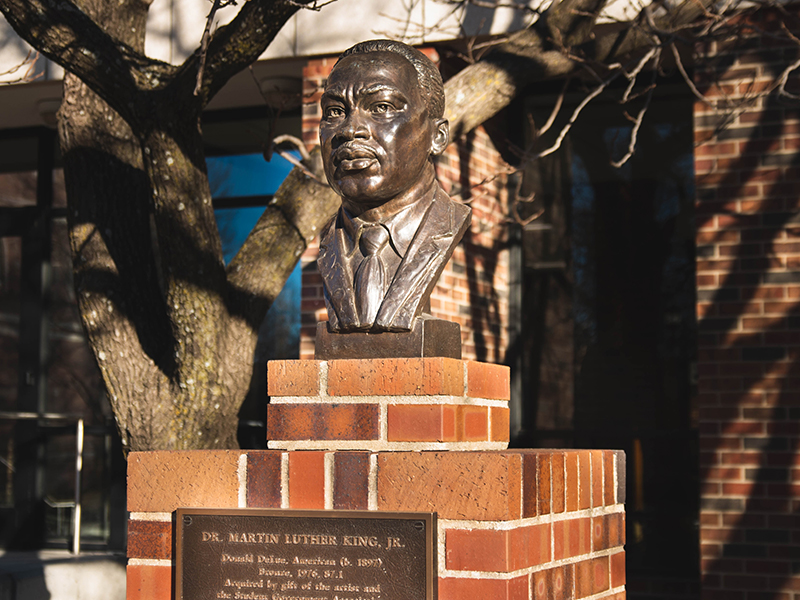 Dr. Martin Luther King Jr. bust