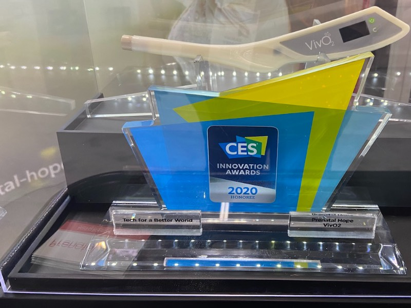 Innovation award from CES