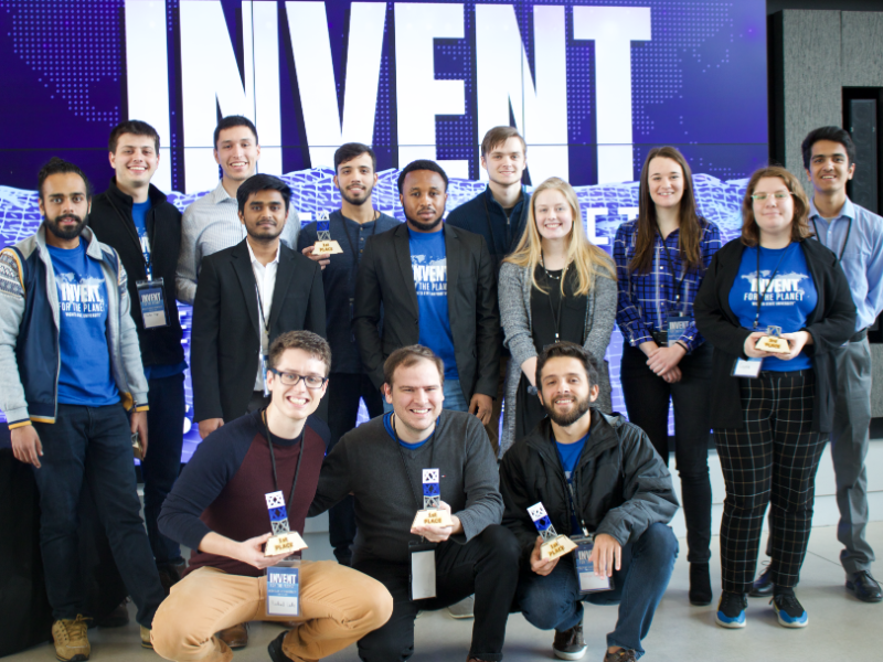 Wichita State Invent for the Planet team