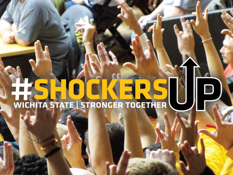 Shockers Up logo