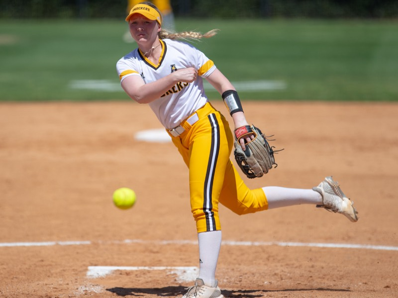 Wichita State junior Caitlin Bingham
