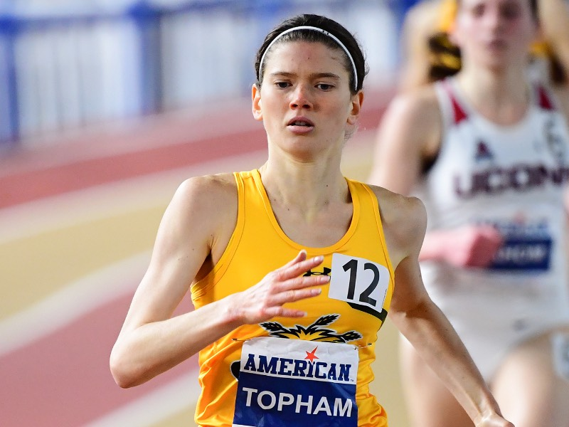 Wichita State runner Rebekah Topham