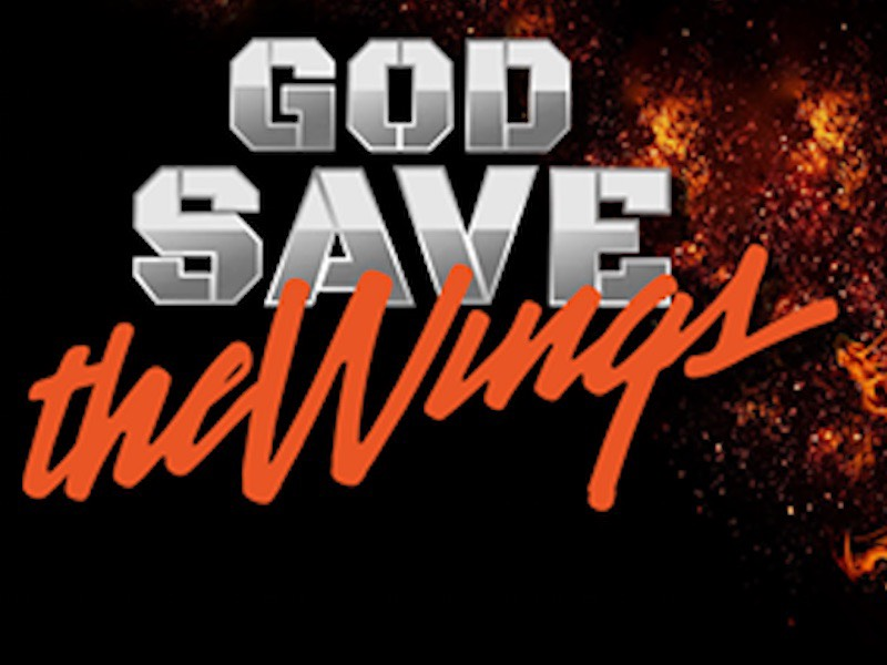 God Save the Wings logo