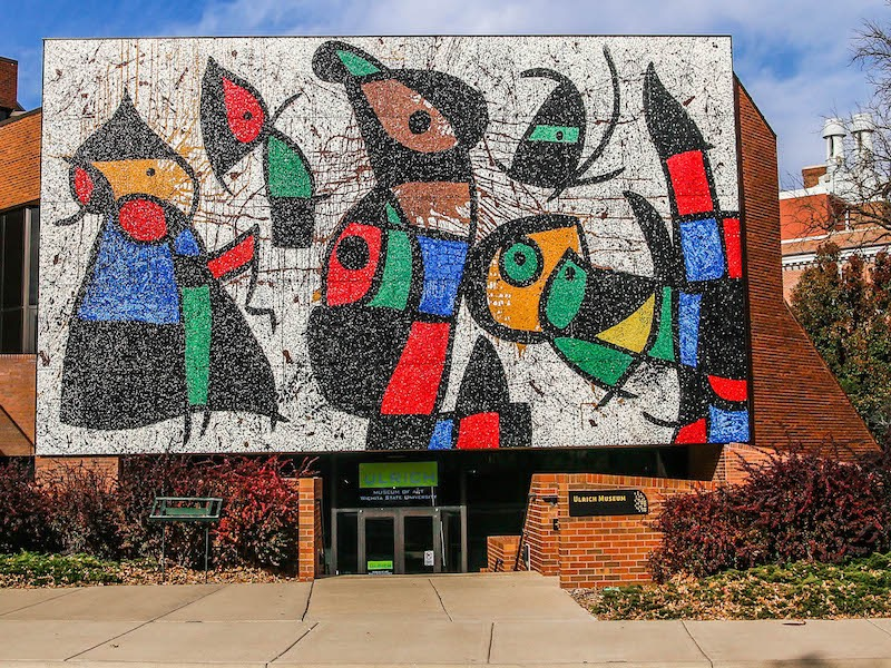 Miro art at Wichita State