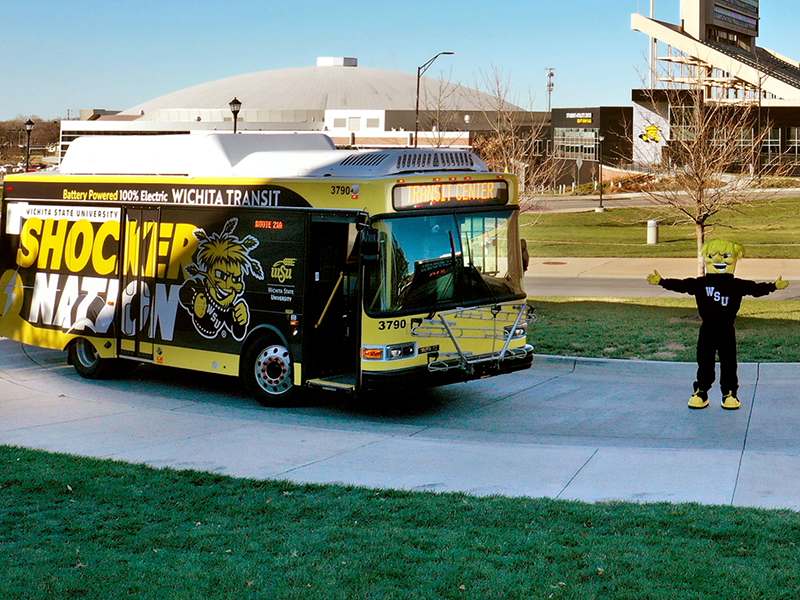 Shocker Nation bus