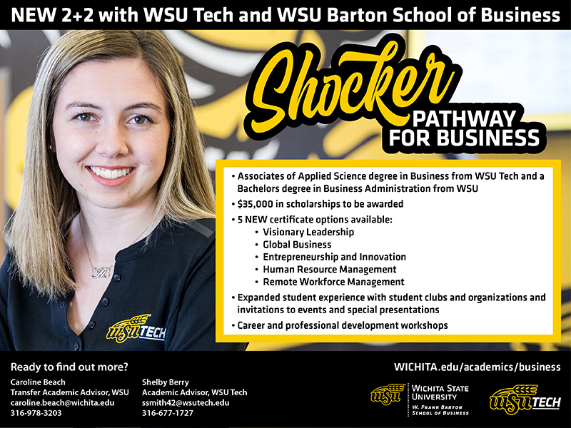 WSU Tech, Barton School graphic