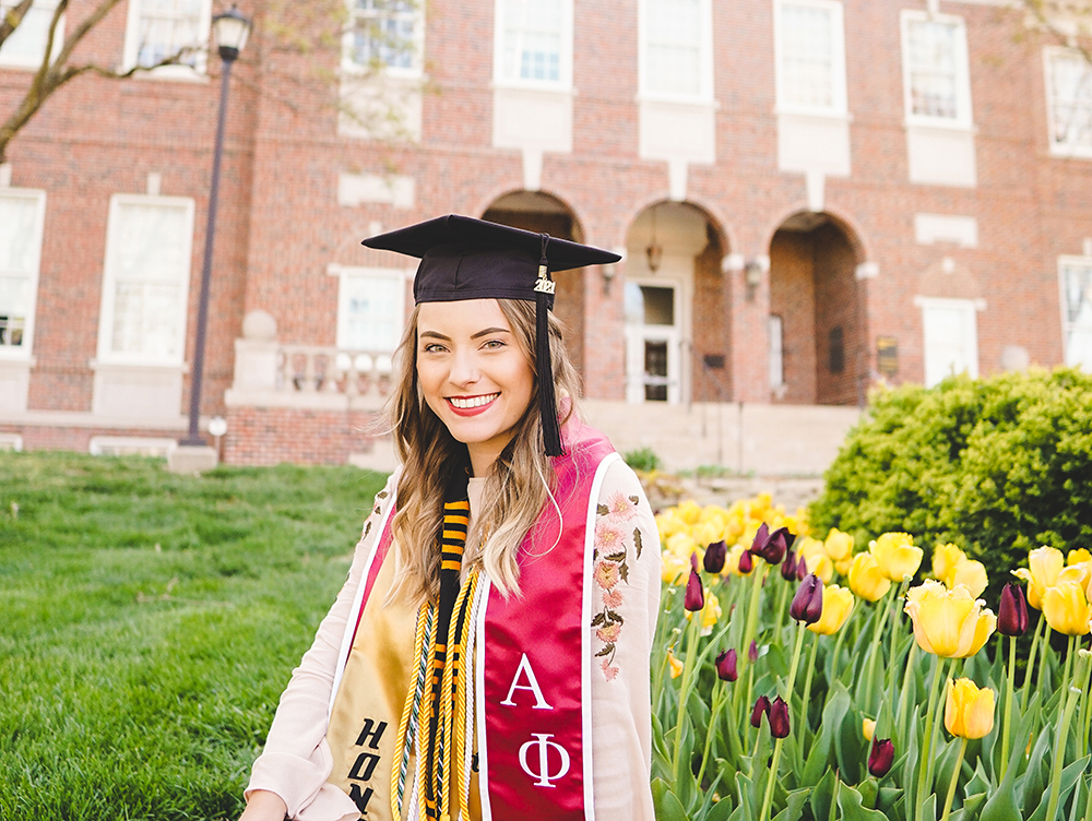 Jane is one of more than 3,500 students eligible for spring 2021 graduation.
