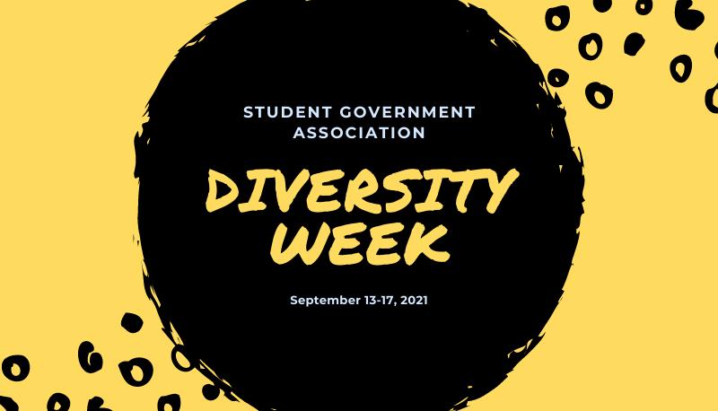 Student Government Association Diversity Week September 13-17