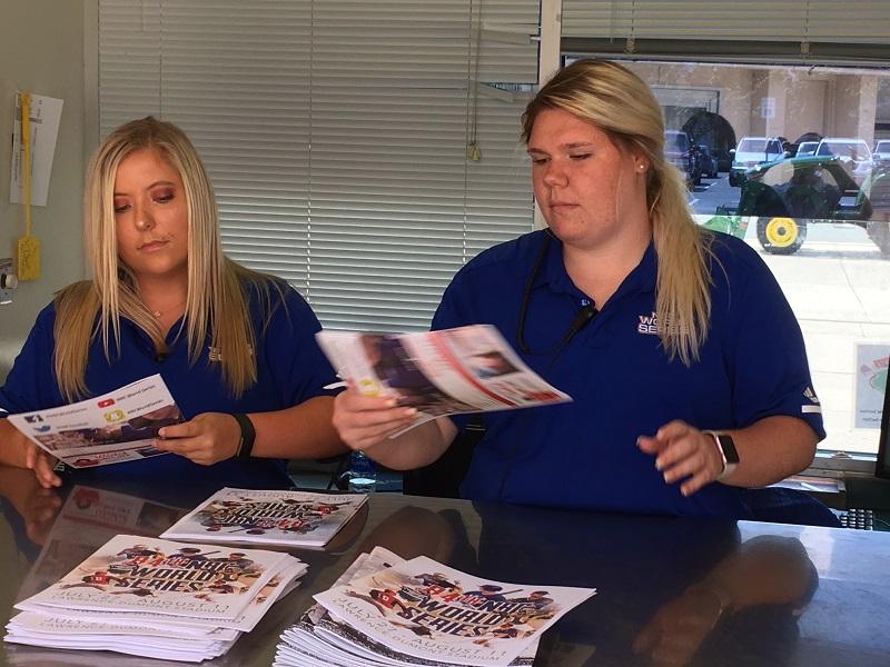 Students gain career experience through NBC World Series
