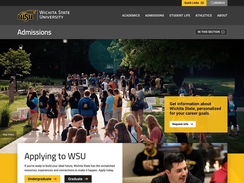 WSU Topics: WSU Website Project