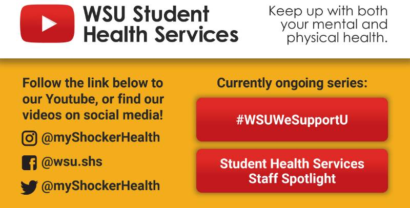 Student Health Services on YouTube