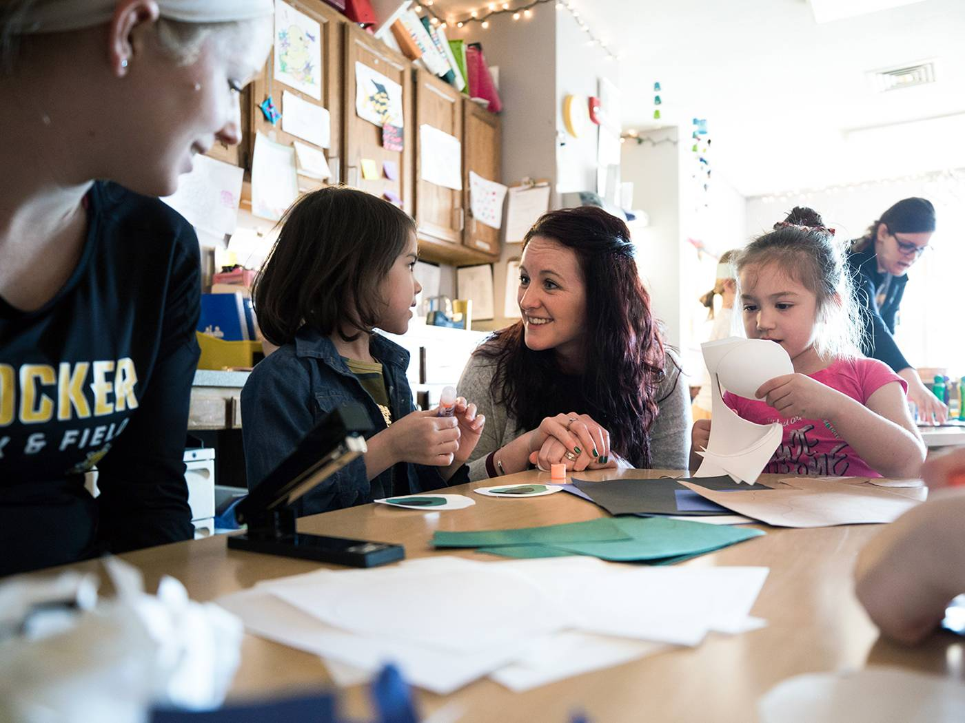 Applied Studies Education students working with pre-schoolers