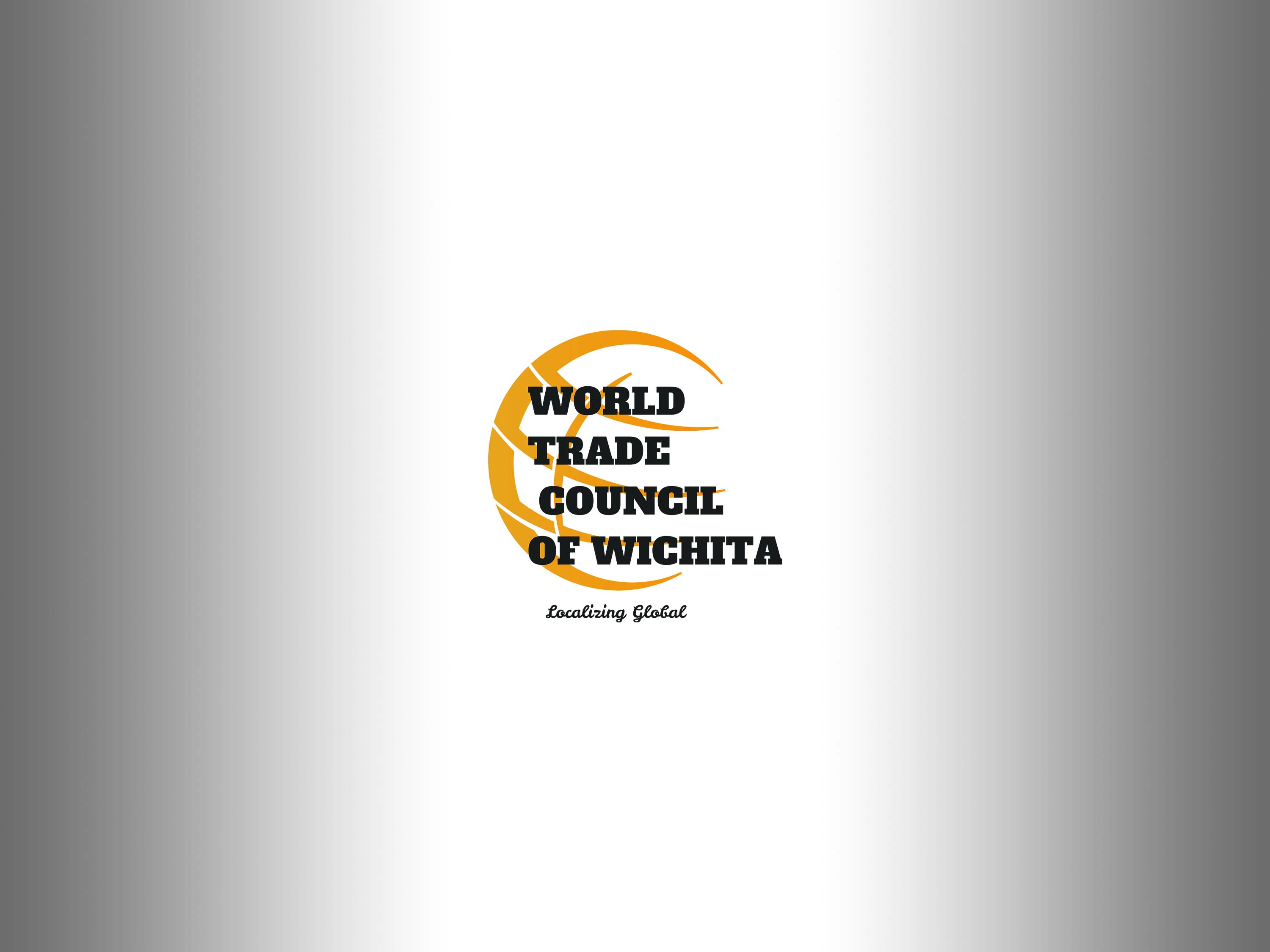 "World Trade Council of Wichita Logo - ""Localizing Global"""