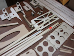 Laser Cut Prototype Aircraft Parts