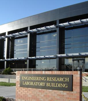 Photo of the Engineering Research Laboratory Building