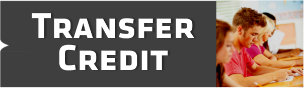 Transfer Credit link graphic.