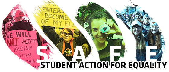 Student Action for Equality logo.