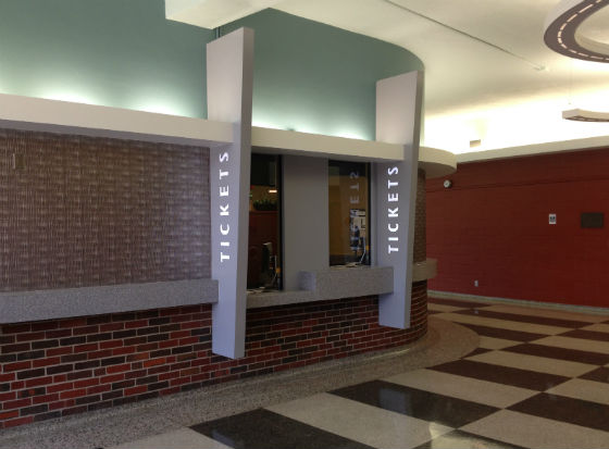 Duerksen Fine Arts Box Office: Duerksen Fine Arts Box Office Ticket Window.