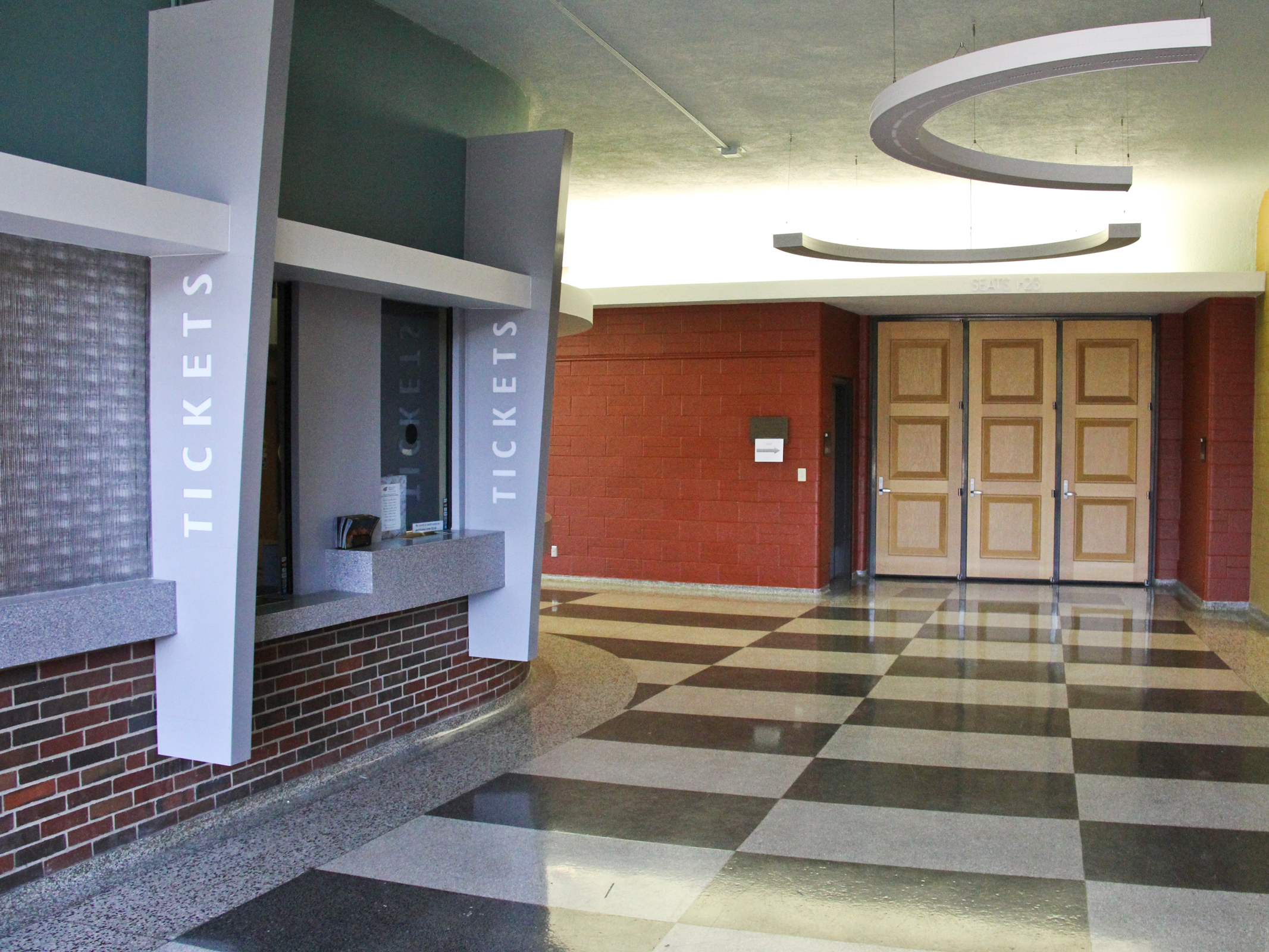 Box Office at Miller Concert Hall, Duerksen Fine Arts Center
