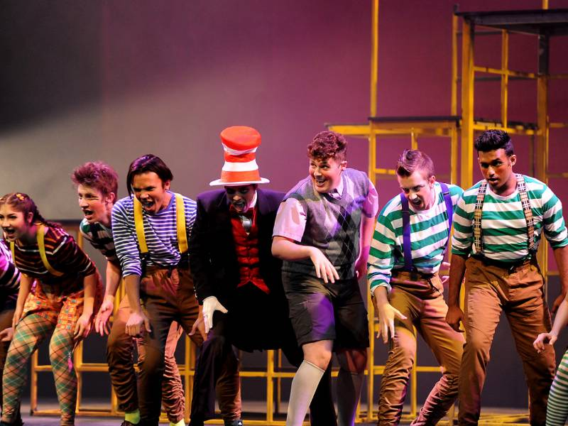 "Music theatre students perform at ""Seussical"""