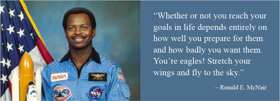 Ronald McNair quote photo
