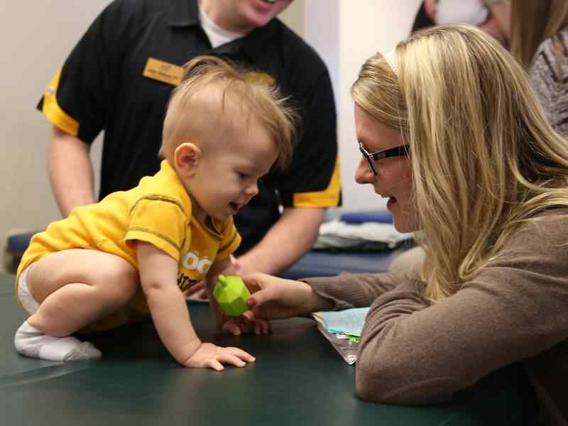 Baby Day provides students with the opportunity to learn about the development of infants and toddlers.