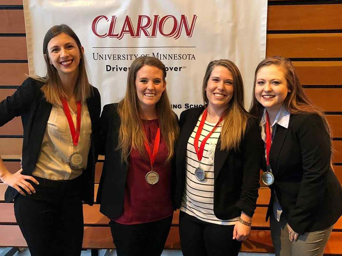 Each year CSD students participate in the prestigious CLARION Interprofessional Competition.