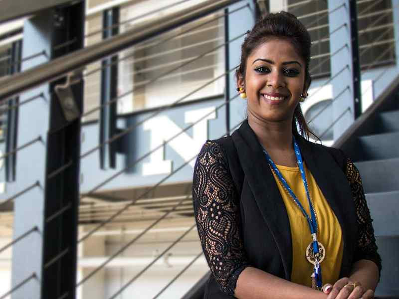 Anushiya Shiley Gomes earned a coveted internship at Spirit AeroSystems.