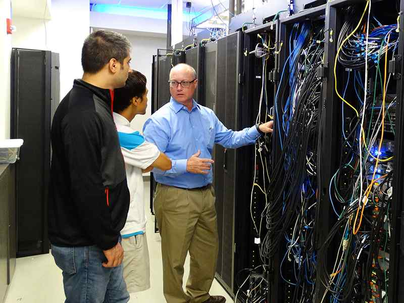 A cyber research partnership provides hands-on job opportunities for students.