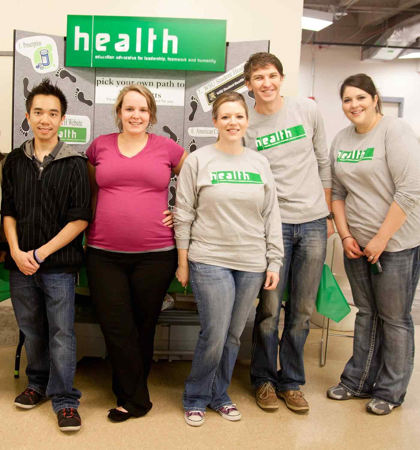 HEALTH students helped implement the Tobacco Free Campus Ambassador program