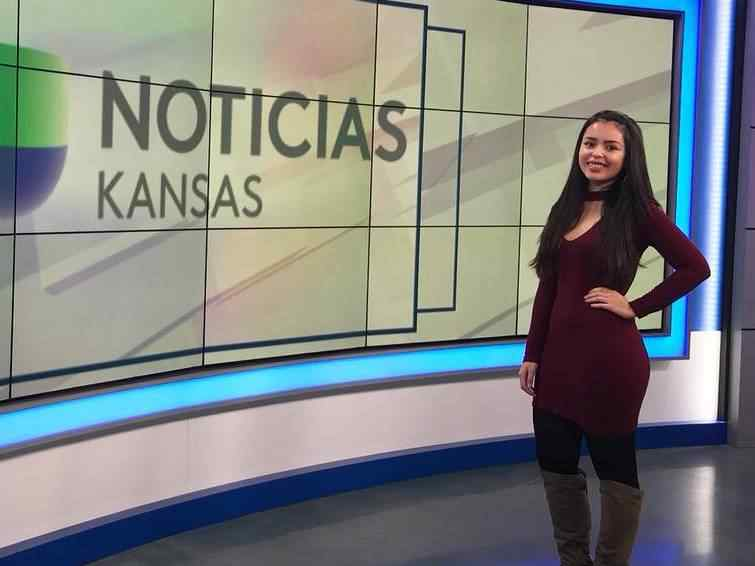 Carolina Loera-Lozano gained real newsroom experience