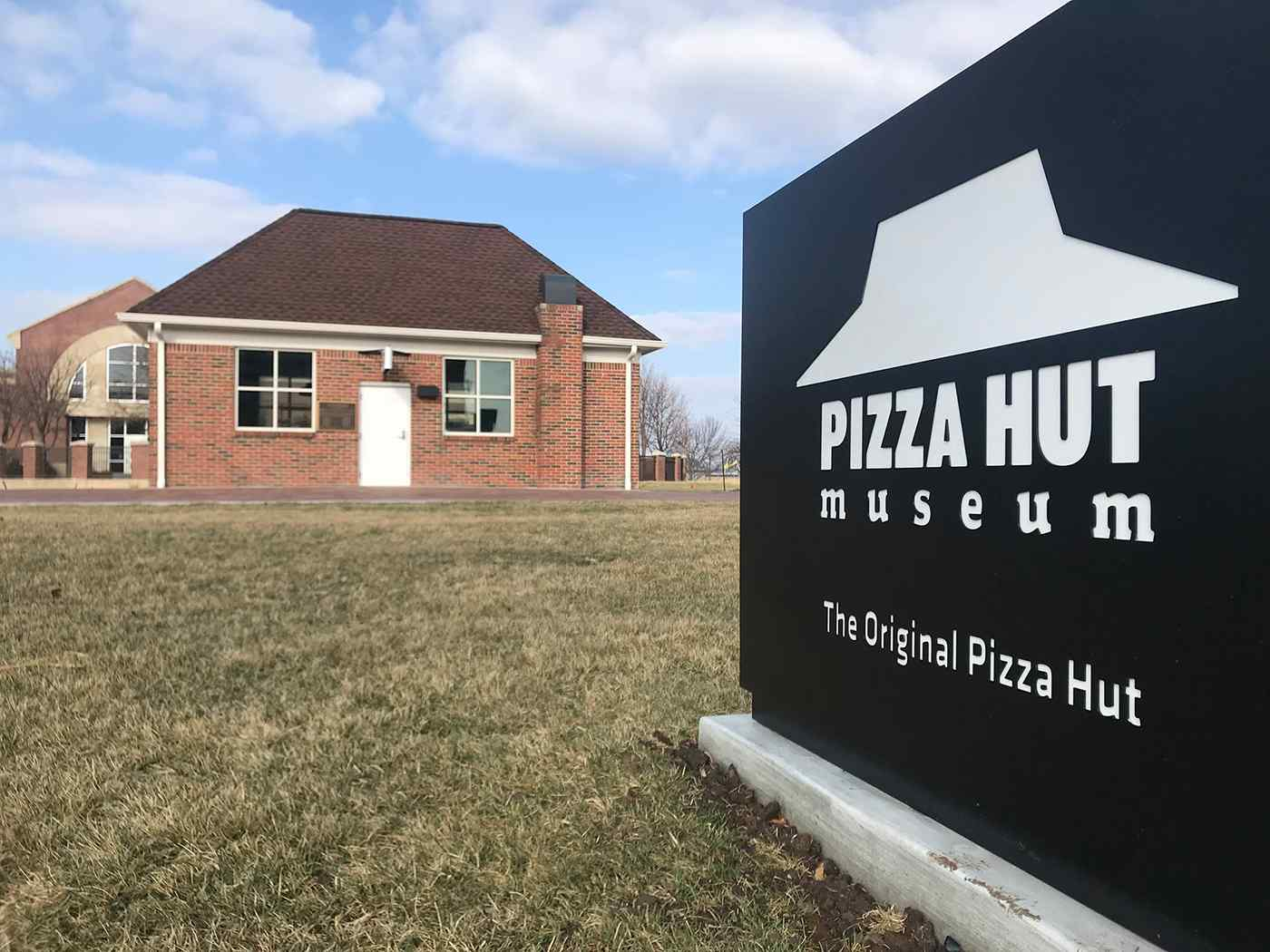 The original Pizza Hut was founded in 1958 by two Wichita State students, brothers Dan and Frank Carney.