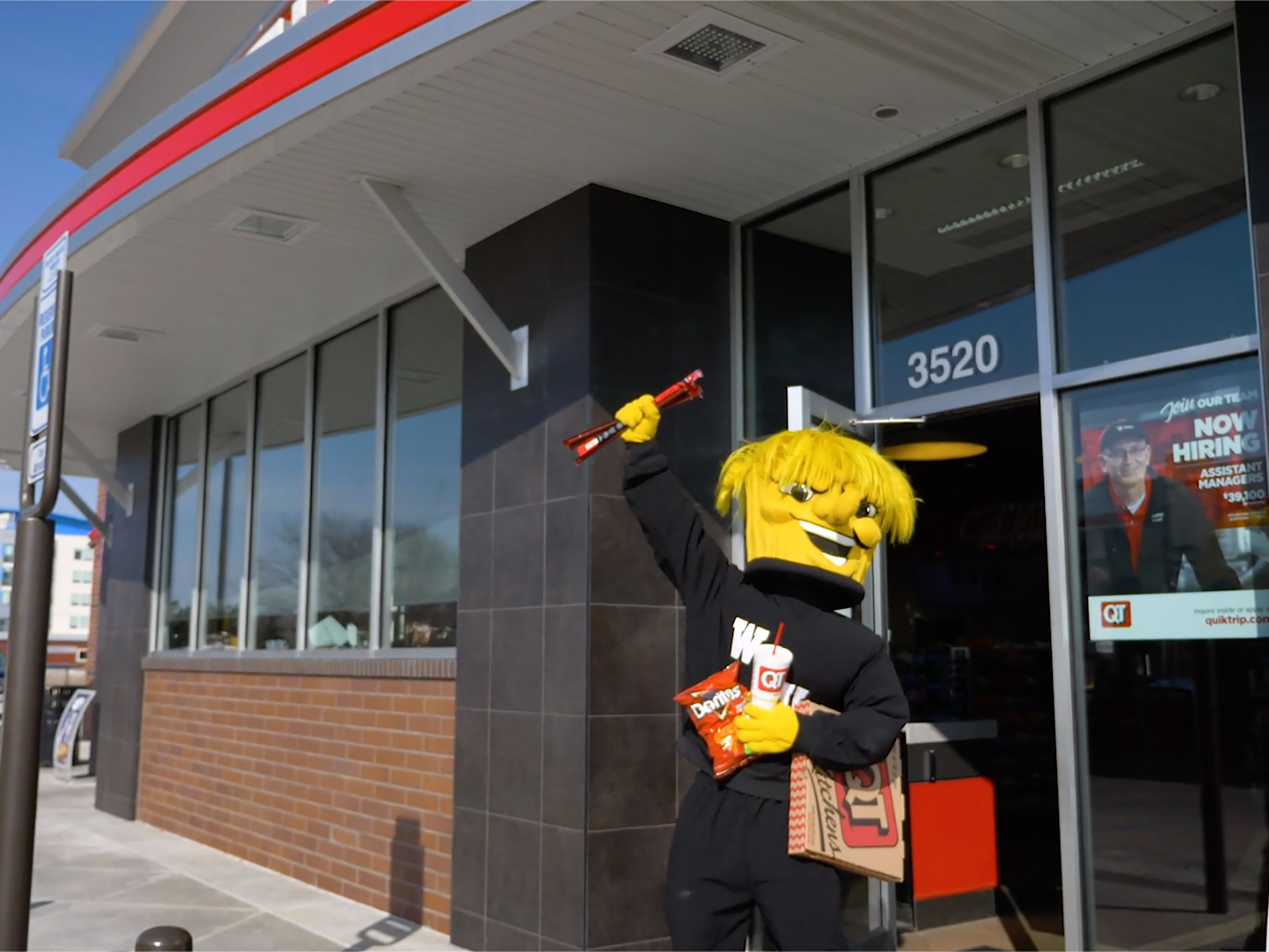 WuShock goes to QuickTrip