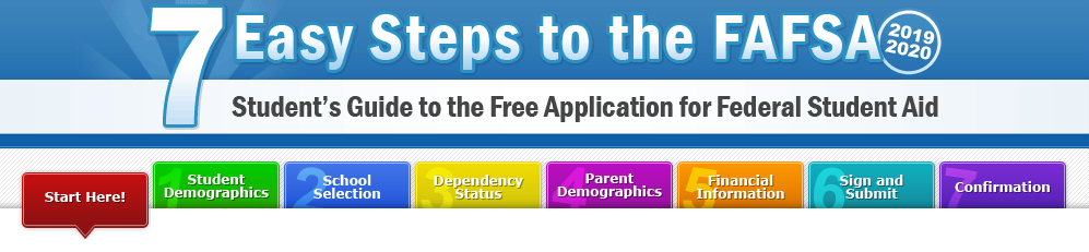 7 Easy Steps to the FAFSA: Student's Guide to the Free Application for Federal Student Aid